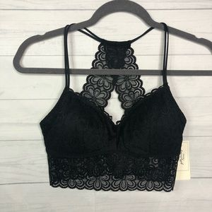 Gilly Hicks Lace Racerback Triangle Bralette